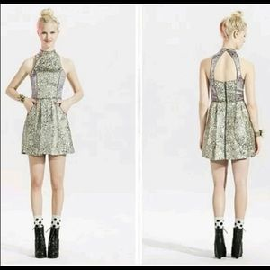 Metallic Cocktail Dress from Urban Outfitters